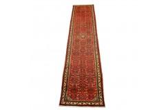 Kwiatowy chodnik Hamadan perski ręcznie tkany 80x390cm Iran