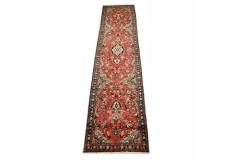 Bogaty chodnik Hamadan perski ręcznie tkany 80x390cm Iran