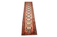 Ludowy chodnik Hamadan perski ręcznie tkany 85x385cm Iran