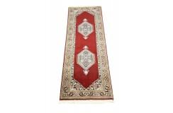Klasyczny dywan chodnik bidjar z Indii 75x245cm 100% wełna (Indo-Bidjar) perski