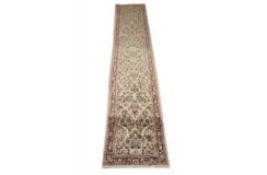 Tradycyjny chodnik dywan Saruk z Iranu 75x425cm 100% wełnaręcznie tkany perski