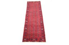 Afgan Mauri oryginalny chodnik 100% wełniany dywan z Afganistanu 80x300cm ręcznie tkany Buchara