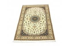 Nain 6la ręcznie tkany dywan z Iranu wełna + jedwab 132x212cm 810 000 wiązań