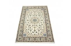 Nain 6la ręcznie tkany dywan z Iranu wełna + jedwab 135x212cm