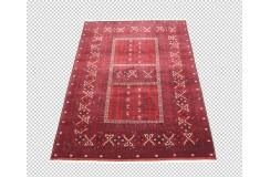 Ręcznie tkany dywan Kunduz (Afganistan) ekskluzywny Afgan Fein 161x235cm tkany na wełnie