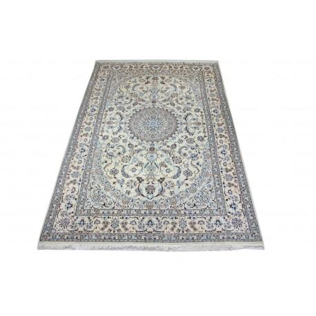 Nain 6la ręcznie tkany dywan z Iranu wełna + jedwab 200x300cm