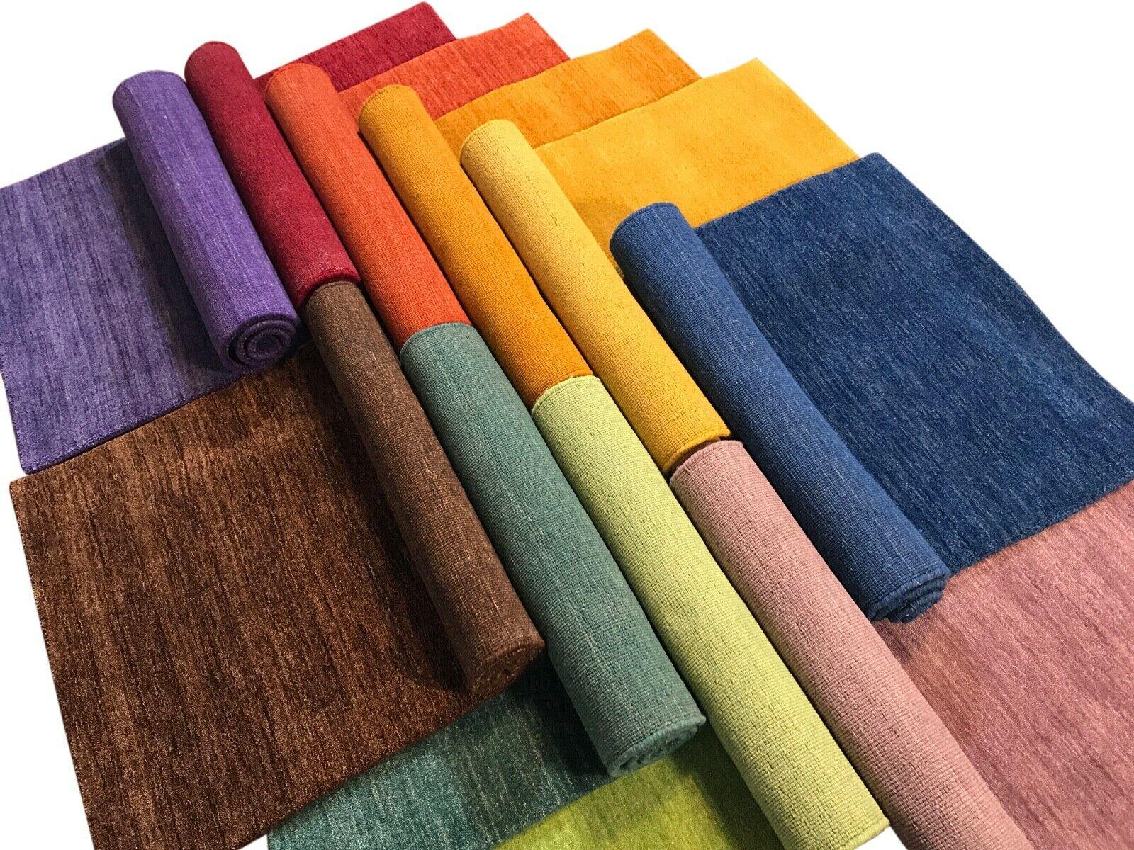 dywany gabbeh handloom wełna różne kolory