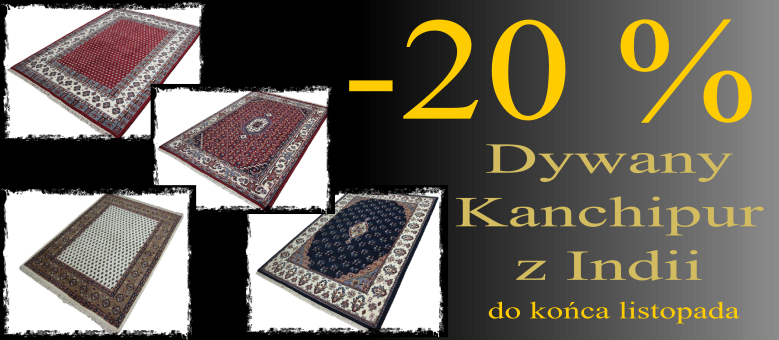 Dywany kanchipur -20%